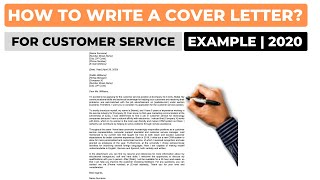 How To Write A Cover Letter For A Customer Service Job? | Example