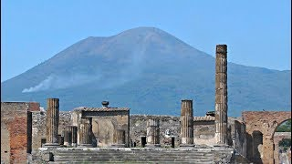 Tour of the excavated ruins of Pompeii Italy