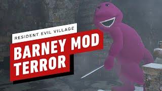 Resident Evil Village: This Barney Demo Mod Is Amazing by IGN