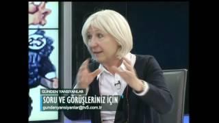 Gazeteci yazar Banu Avar TV5
