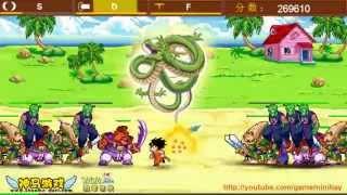 Game Songoku bảo vệ rồng thần