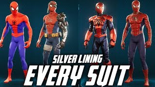 mqdefault - Spider-Man - EVERY SUIT IN THE SILVER LINING DLC - Spider-Verse / Cyborg / Aaron Aikman /Webbed Suit
