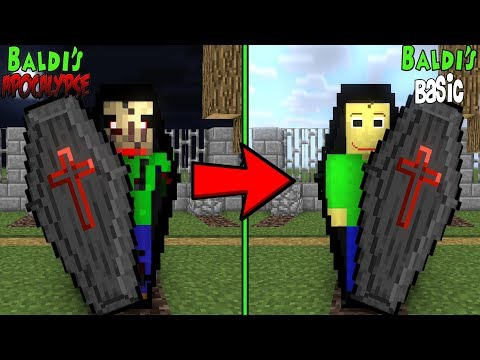 Monster School : RIP BALDI'S APOCALYPSE CHALLENGE - Minecraft Animation