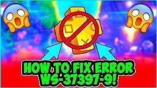 PS4 HOW TO FIX ERROR WS-37397-9! PSN SIGN IN ERROR! IP ADDRESS BANNED IN PSN! (IP ADDRESS FIX)