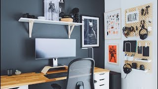 DIY Home Office and Desk Tour