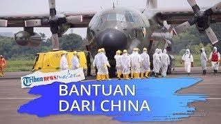 Video Detik-detik Pengambilan Bantuan Alat Medis dari China