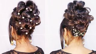 Elegant Hairstyle For Special Occasions | GoldenMannu
