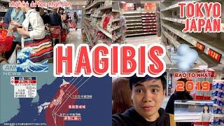 🔥Hot🔥 HAGIBIS - Bão số 19 Sắp Đổ Bộ Vào Nhật Bản - Người Dân Xếp Hàng Mua Đồ Dự Trữ