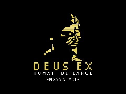 8-Bit, Co-Op Deus Ex Game Is A Cruel, Cruel April Fools' Joke