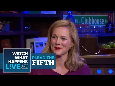 Plead the Fifth: Laura Linney on Liam Neeson's Big Bulge | WWHL