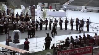 preview picture of video 'Bagad Brieg - Festival interceltique Lorient 2012'