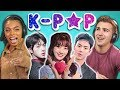 POP (BTS, MONSTA X, SEVENTEEN, TWICE, Red Velvet)
