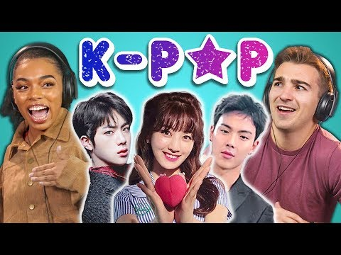 COLLEGE KIDS REACT TO K-POP (BTS, MONSTA X, SEVENTEEN, TWICE, Red Velvet)