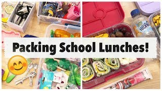 School Lunch Ideas + My Favorite Supplies for Packing Lunches!