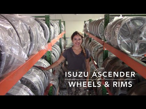 Factory Original Isuzu Ascender Wheels & Isuzu Ascender Rims – OriginalWheels.com