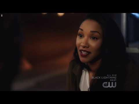 Flash Season 5 Episode 5 Norra and Iris make up * Emotional moment*