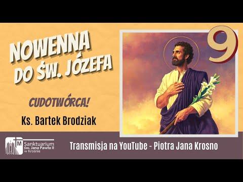 Cudotwórca!-IX dzień nowenny do św. Józefa, Sanktuarium św. Jana Pawła II w Krośnie