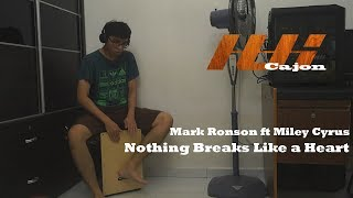 Mark Ronson ft Miley Cyrus - Nothing Breaks Like a Heart (Cajon Cover)
