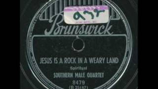 Southern Male Quartet - Jesus is a rock in the weary land