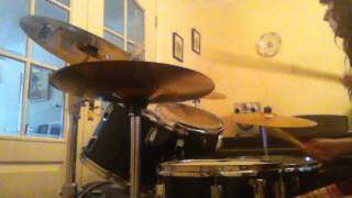 Chvrches- Get Away- Drum Cover