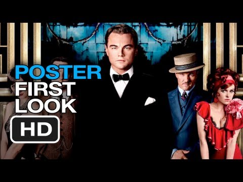 The Great Gatsby - Poster First Look (2013) Leonardo DiCaprio Movie HD
