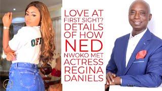 How Ned Nwoko 62 Actually Met His 18-Year-Old New Wife, Regina Daniels!
