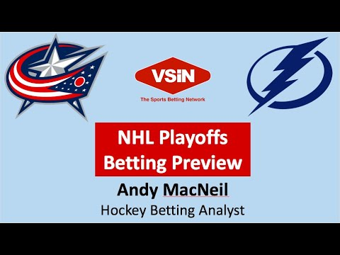 Columbus Blue Jackets Tampa Bay Lightning NHL Hockey Playoff Series Betting Preview