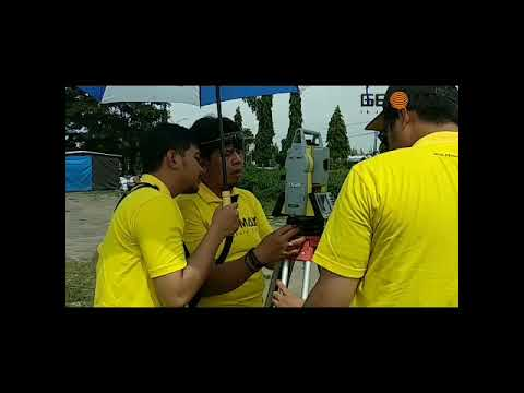 Training Total Station Geomax - YouTube