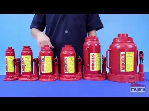 Gatos hidraulicos de botella mikels
