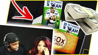 REACTING TO MY WIFE GOING CRAZY OVER ME BUYING PACKS! - MAV3RIQ Fam Reacts Ep.7