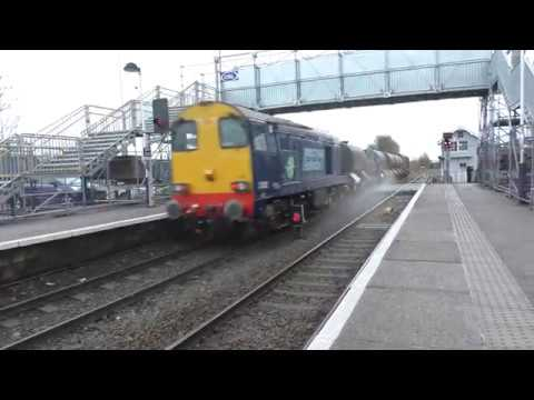 DRS Class 20s on RHTT at Worksop and Meadowhall 9th November…