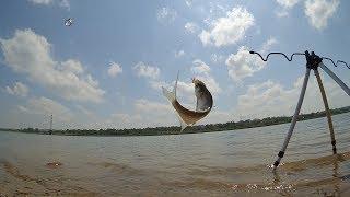 Зимняя рыбалка на донецком море