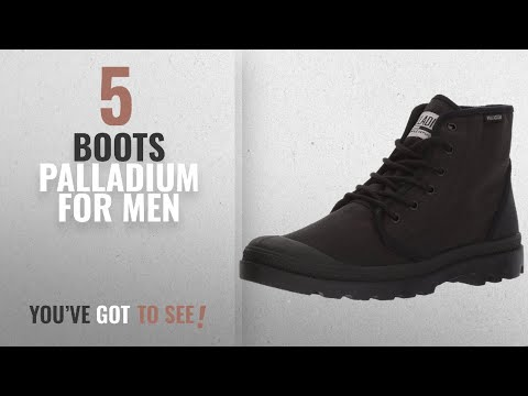 Top 10 Boots Palladium [ Winter 2018 ]: Palladium Men's Pampa Hi Originale TC Chukka Boot,