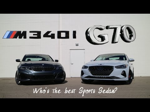 WHEEL 2 WHEEL | 2020 BMW M340 vs Genesis G70