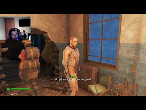 Brundonx Plays FallOut 4 Part 4 We are Back! (LIVE)