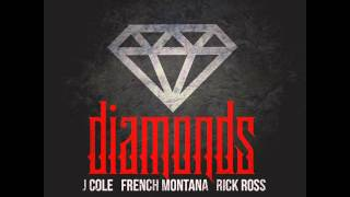 French Montana feat. J. Cole & Rick Ross- Diamonds [CLEAN EDIT/High Quality Mp3]