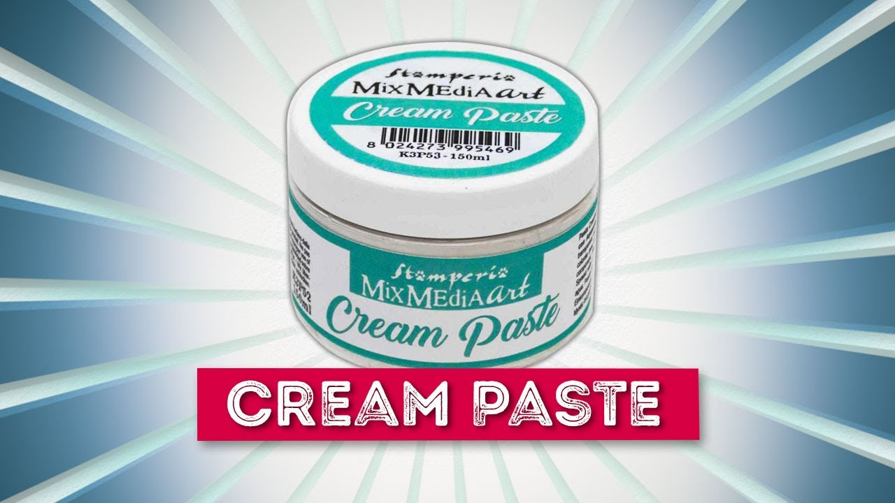 Tekstuuritahna hopeinen - Stamperia Cream Paste Silver - 150 ml