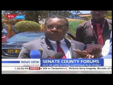 Senate county sittings