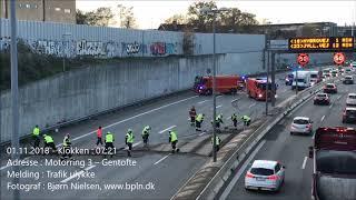 01.11.2018 – Trafik ulykke – Gentofte