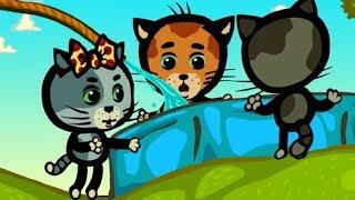 Развивающие песенки - Три котенка: Подогрей водичку, Солнце!