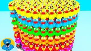 Learn Colors with Colorful Rubber Ducks,Учим Цвета Уточки,Aprendizaje a Color con Bolas de Colores