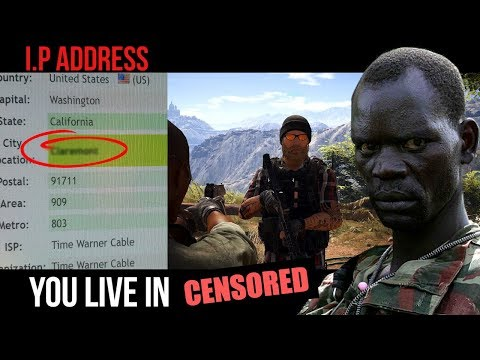 African Rebel HORRIFIES gamers with their REAL LOCATION