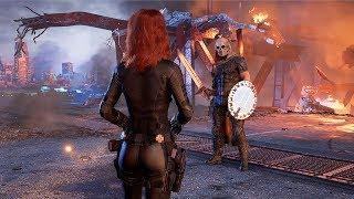 [4K] AVENGERS: A-Day - Black Widow vs Taskmaster Boss Fight @ ᵁᴴᴰ ✔