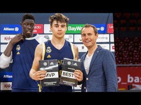 EB ANGT Munich MVP: Juan Nunez, U18 Real Madrid