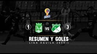 Nacional Vs Cali: Resumen Y Goles Del Partido 1-3 En El Atanasio - Cuadrangulares Liga Águila 2019-I