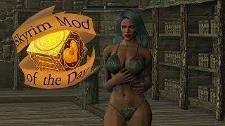Skyrim mod of the day: SeveNBase Bombshell Body W/Bikini
