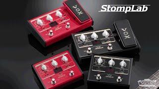 VOX StompLab Series Product Overview