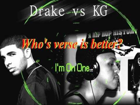 Drake vs KG - WHO'S VERSE IS BETTER?