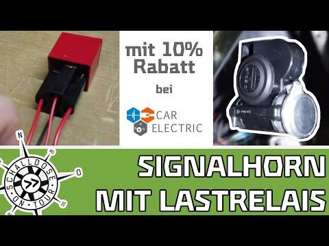 Neues Signalhorn mit Lastrelais ||SCHALLDOSE ON TOUR