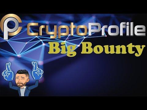 💢IMPERDÍVEL💢  Bounty de $4640 Dólares da CryptoProfile. CORRE!